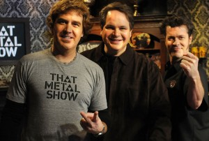 Eddie Trunk, Don Jamieson and Jim Florentine