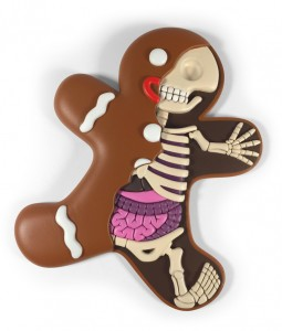 Freeny Gingerbread-Man Dissected