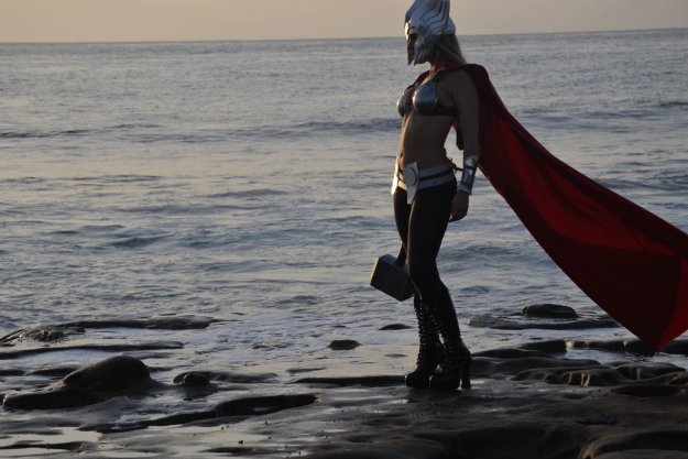 Toni Darling as Thor