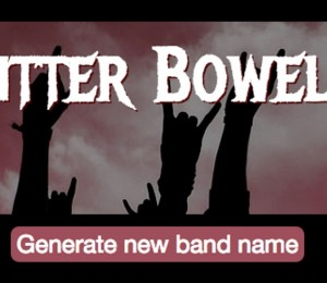 Heavy Metal Band Name Generator