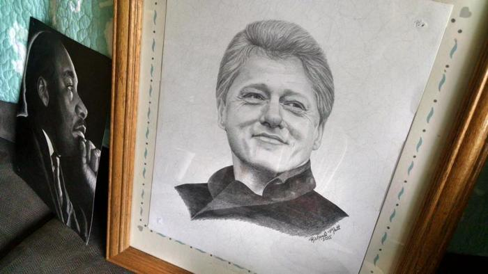 Bill Clinton by Richard Matt