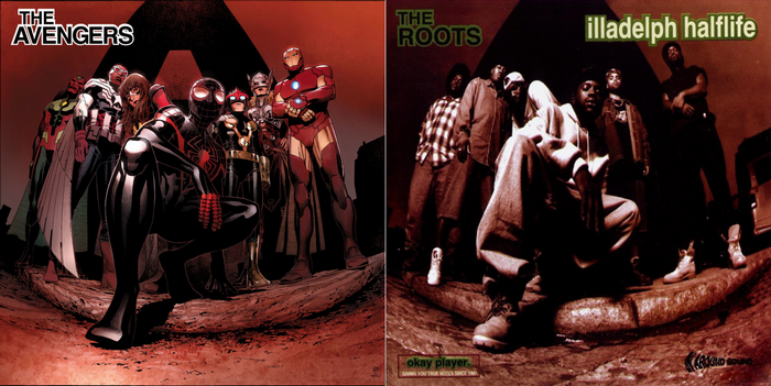 All-New All-Different Avengers art by im Cheung (The Roots' Illadelph Halflife)