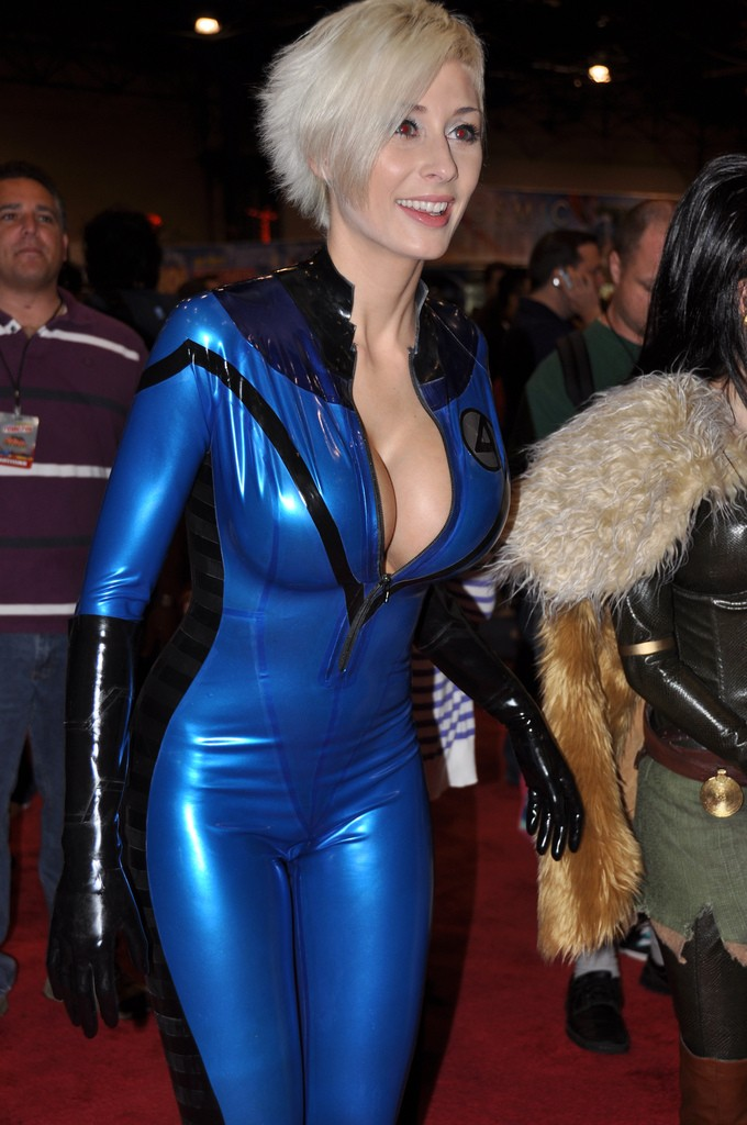 Marie Claude Bourbonnais as Susan Storm of the Fantastic Four