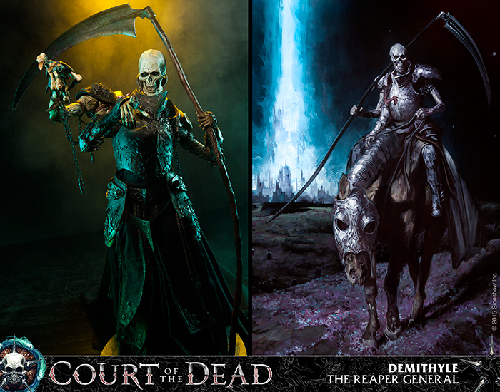 Court of the Dead by Sideshow Collectibles