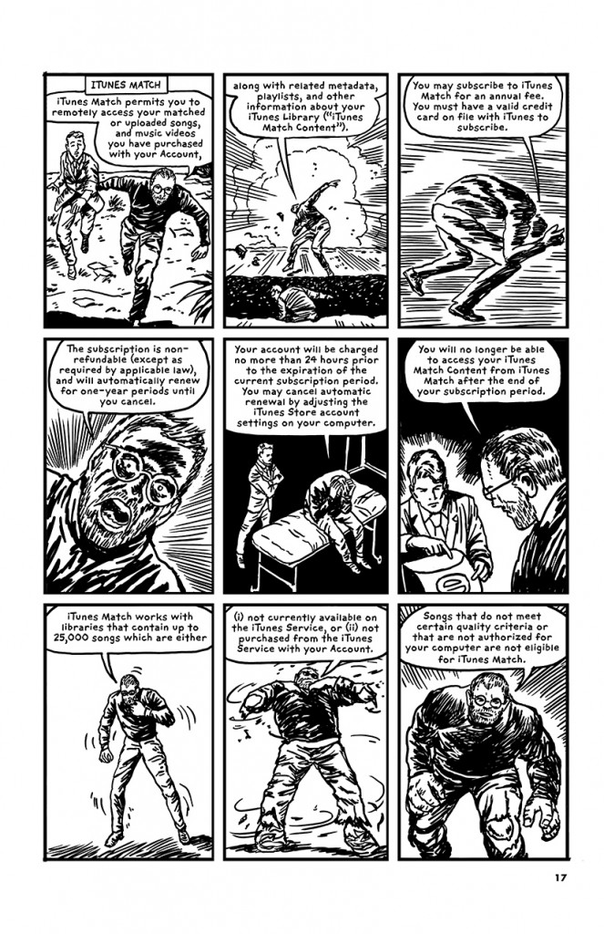 Robert Sikoryak iTunes graphic novel