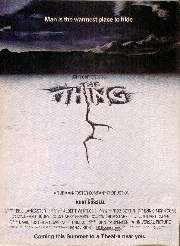 "June 1982, ""The Thing"""