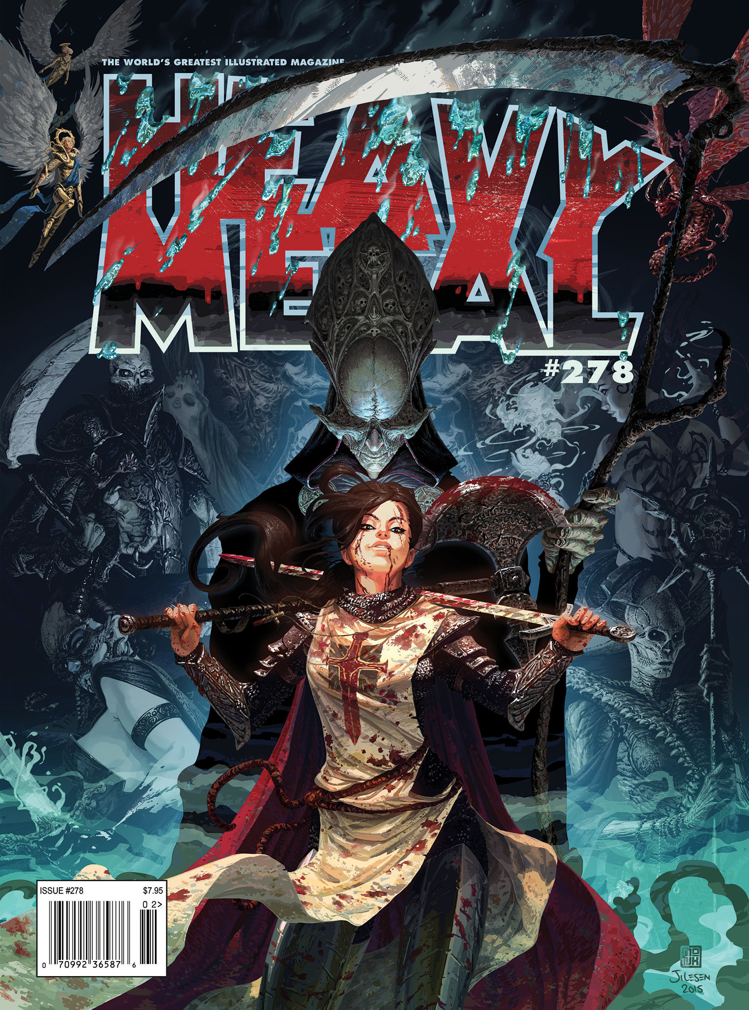 Heavy Metal 278 Is Almost Sold Out! - Heavy Metal