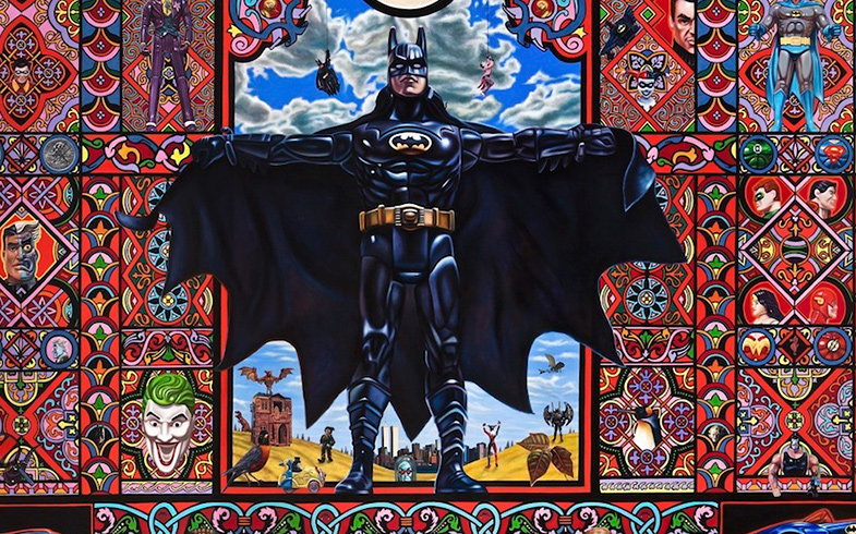 Detail from The Holy Batman by Robert Xavier Burden