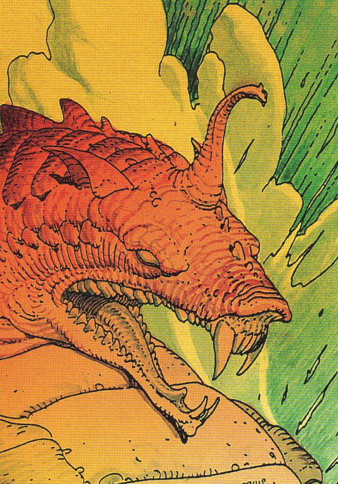 Moebius Trading Cards: 41. The Dreamshadow