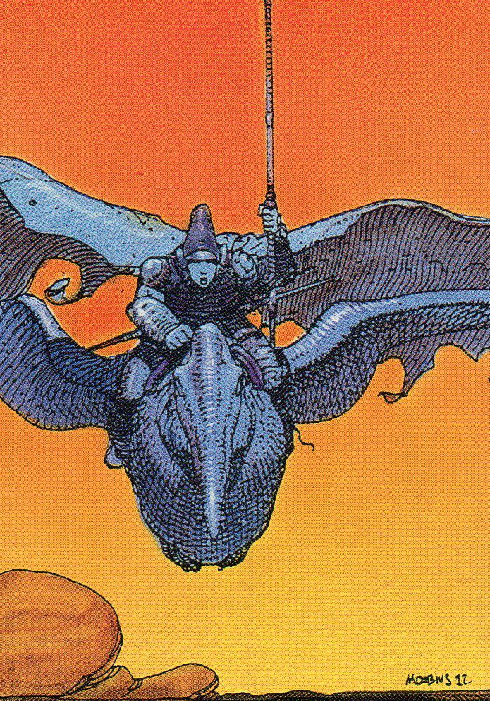 Moebius Trading Cards: 45. Arzach