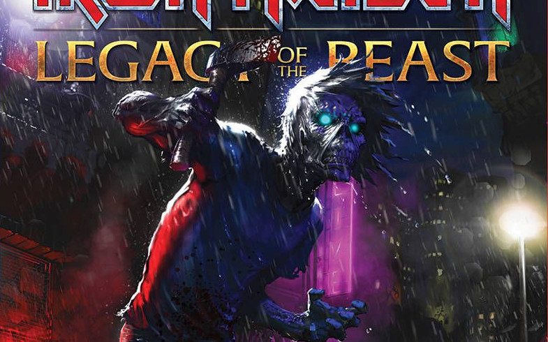 Iron Maiden Legacy of the Beast v2 no2
