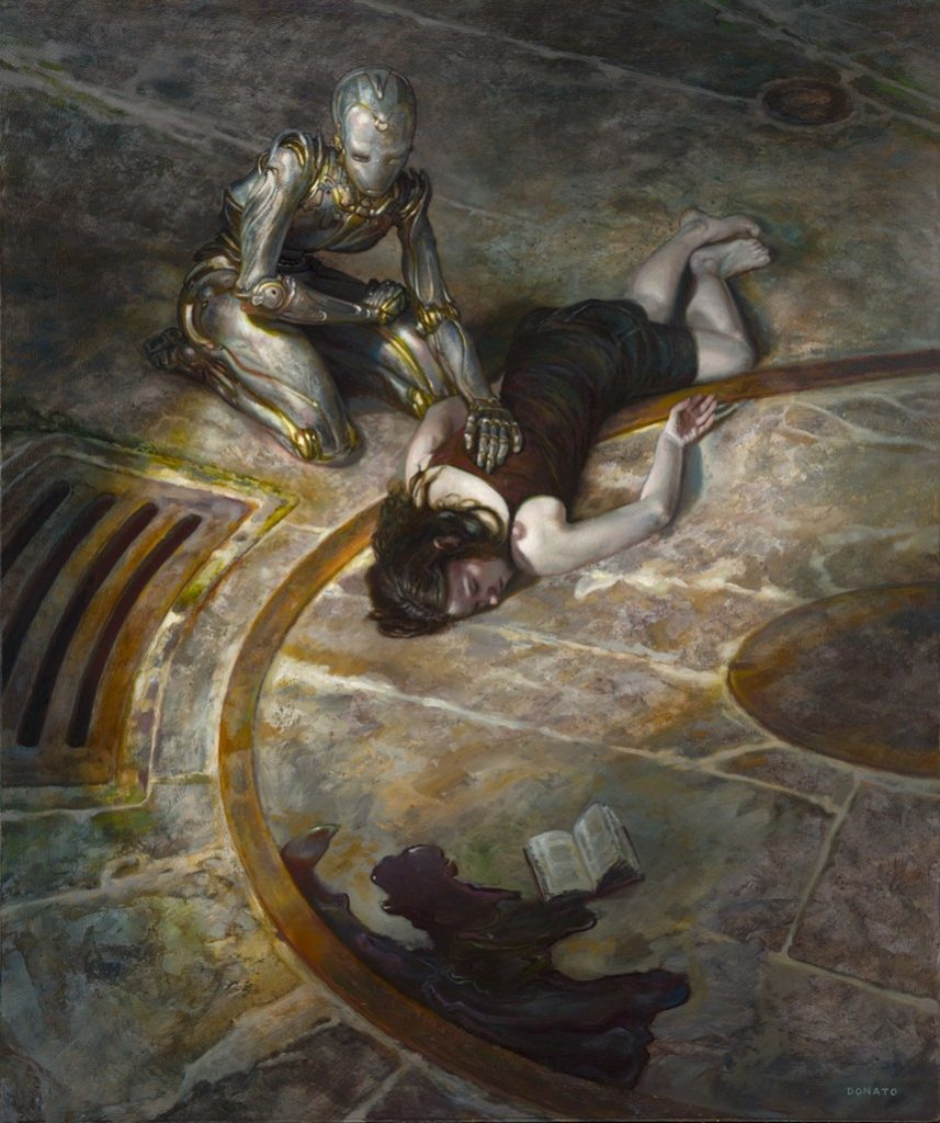Donato Giancola, 'Empathetic Robots: Broken'