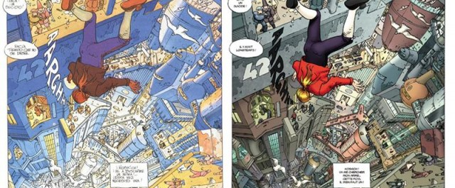 The Incal by Moebius recolored