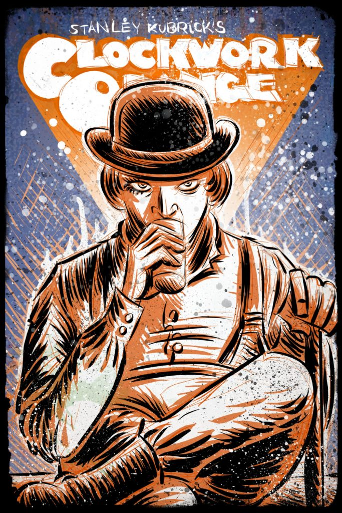 A Clockwork Orange by Joe Badon