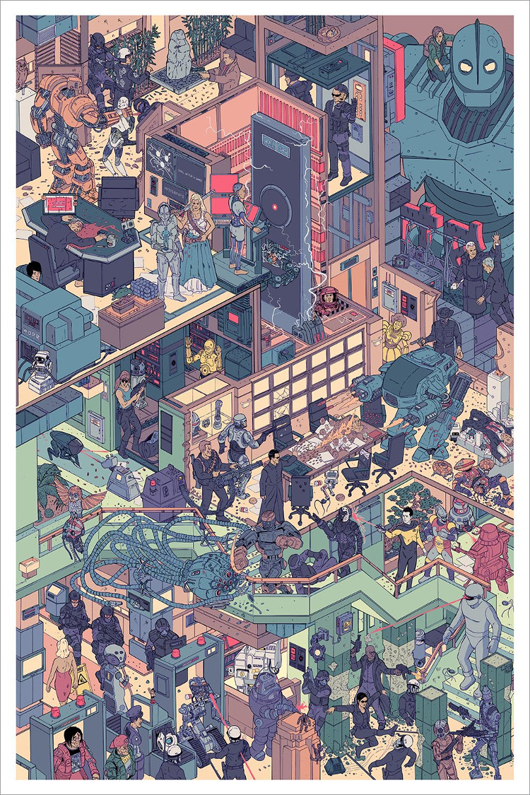 The Raid 3: Scourge of the Machines by Laurie Greasley