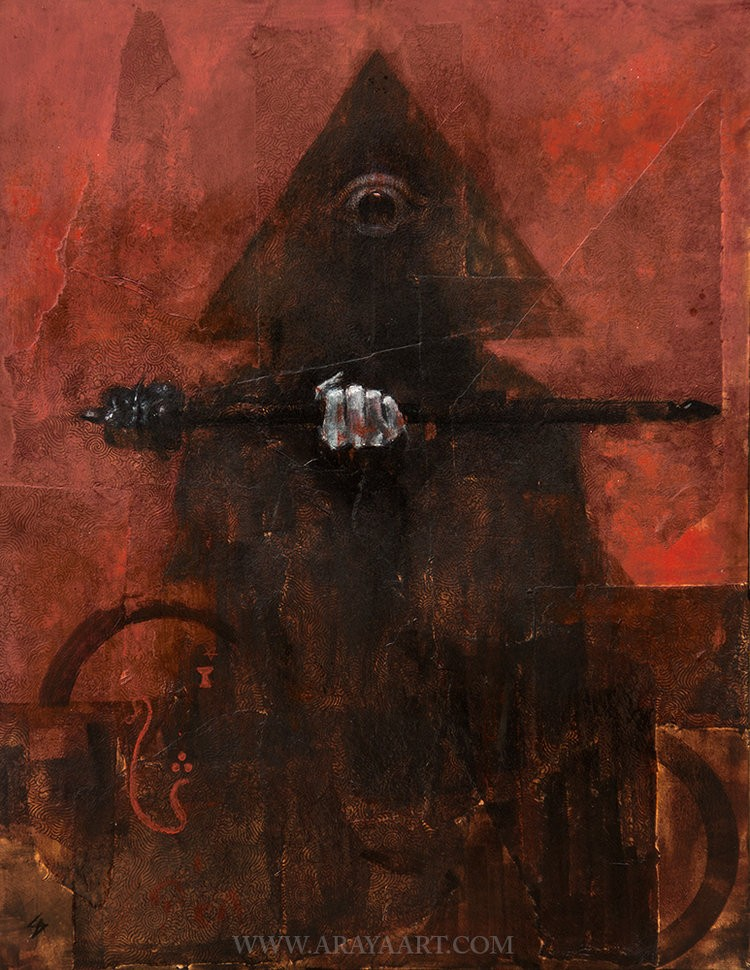 The Magician by Samuel Araya