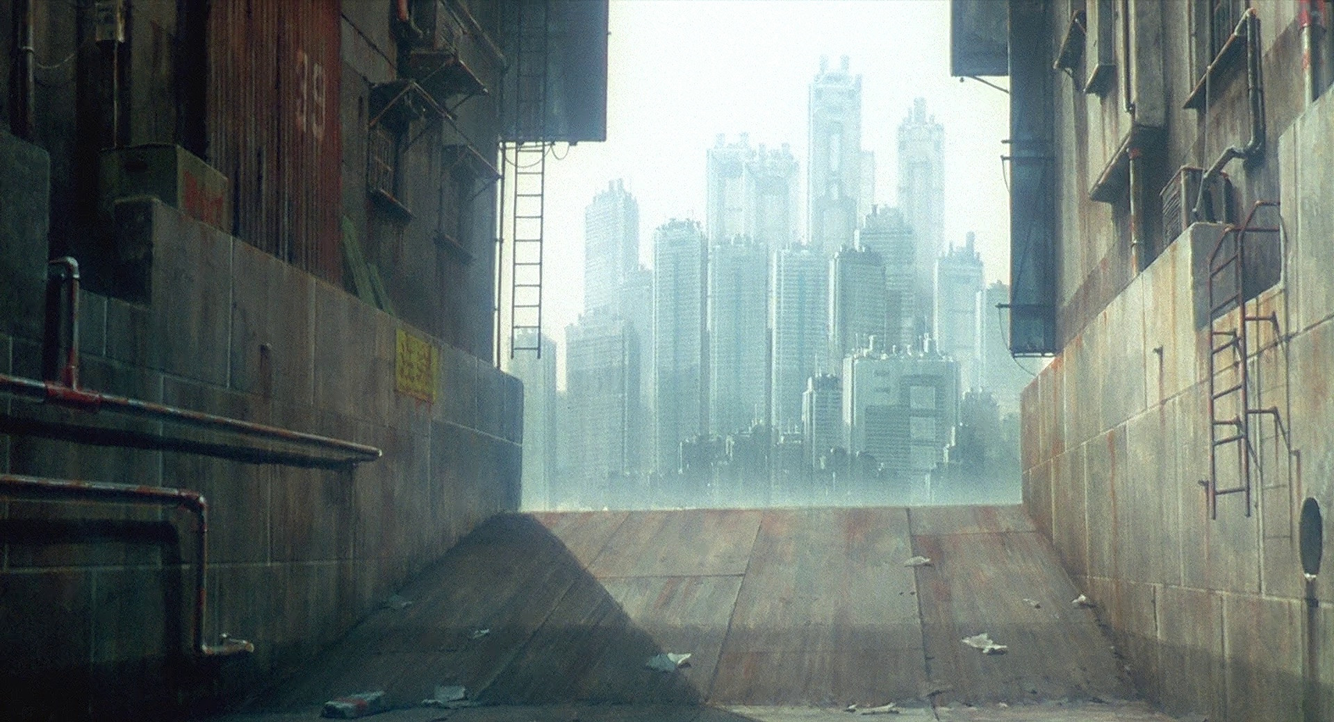 Ghost In The Shell Cityscapes That Made The Film A Masterpiece